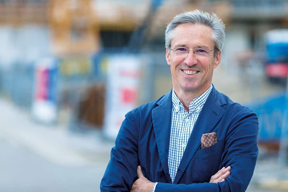 Dr. Gerhard Schuster, Vorstandsvorsitzender der Wien 3420 aspern Development AG.