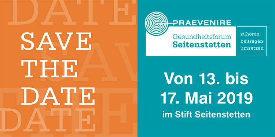 PRAEVENIRE – Save The Date
