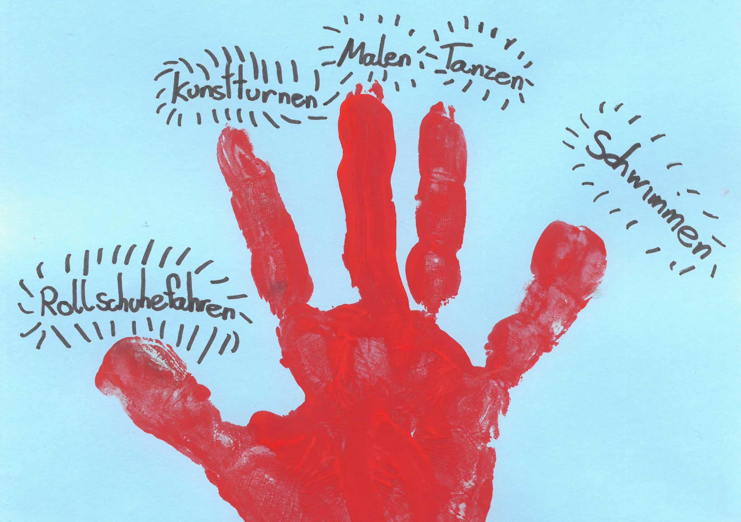 Zeichnung von Elisa, 9 Jahre, Leuwaldhof 2020